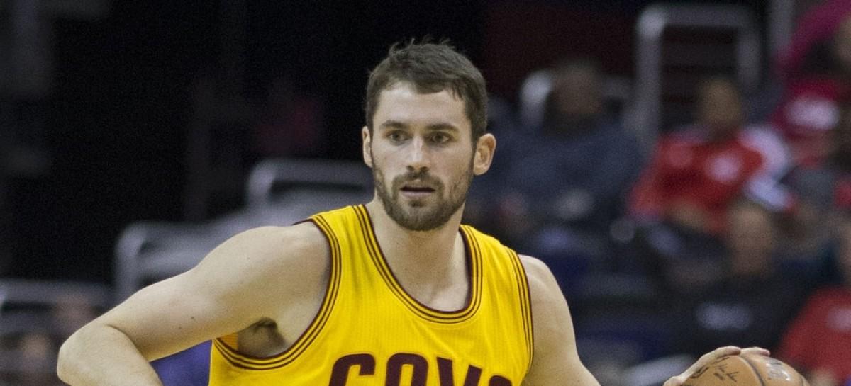 NBA: Kevin Love wypada z gry na 6 tygodni, nie zagra w Meczu Gwiazd