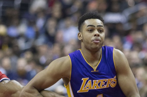 NBA: D'Angelo Russell zbawcą Los Angeles Lakers?