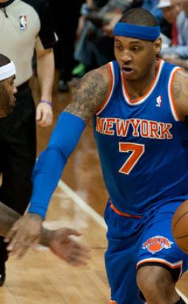 NBA: Anthony zadowolony ze zmian w NYK