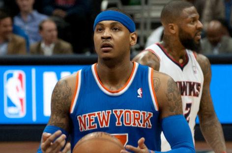 NBA: Anthony jednak w ASG! Embiid odpuszcza