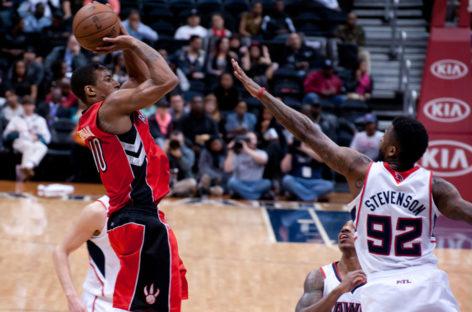 Wyniki NBA: Raptors, Hawks wychodzą na prowadzenie