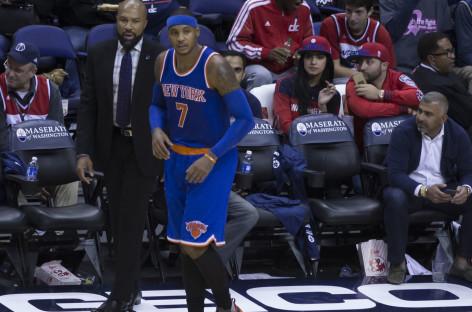 NBA: Carmelo chce zostać w New York Knicks