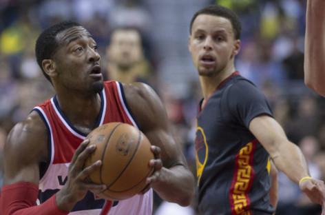 Wyniki NBA: 51 punktów Curry'ego, 41 Walla! Poprawny Gortat