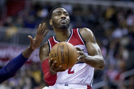 Wyniki NBA: Duet Gortat-Wall rozbija drużynę Davisa