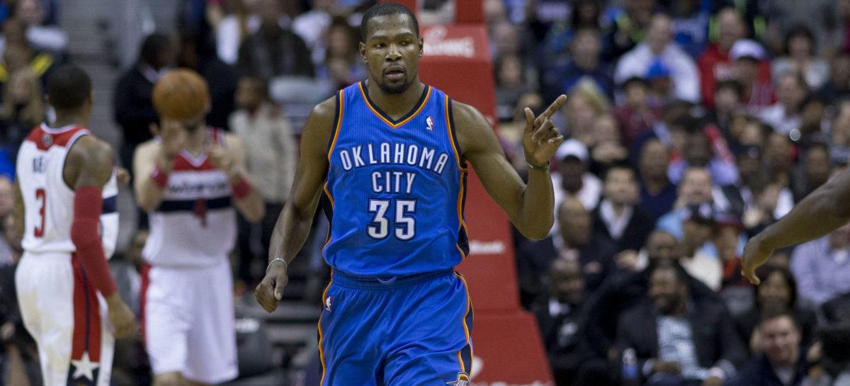 NBA: Kevin Durant dołączy do WARRIORS!