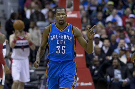 Wyniki NBA: Warriors na kolanach, 33 punkty Kevina Duranta