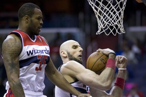 Wyniki NBA: Wizards rozbijają osłabionych Heat. Dobry mecz Gortata