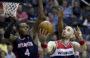 Wyniki NBA: Przełamanie Hawks, świetny Millsap, niewidoczny Gortat