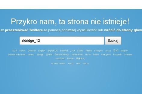 NBA: Aldridge usunął swojego twittera