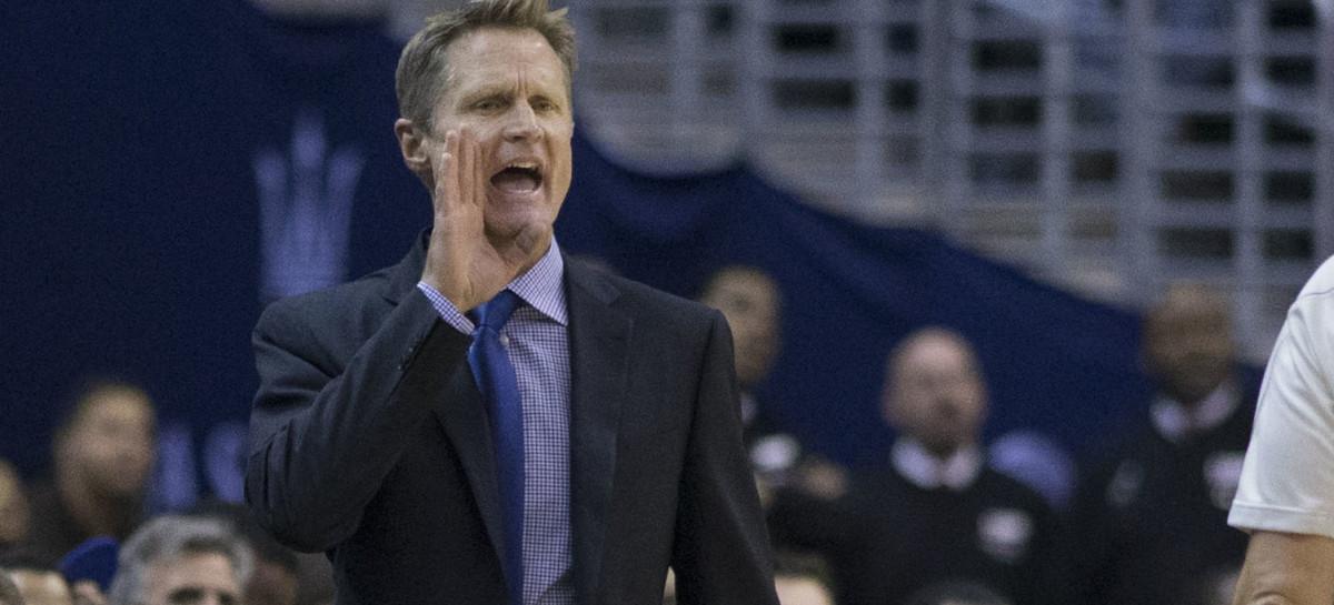 NBA: Steve Kerr ostrzega swoich graczy