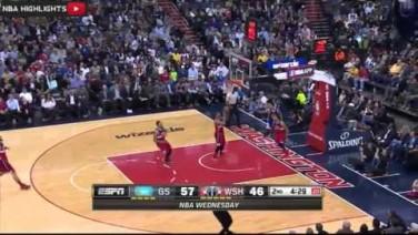 51 punktów Stepha Curry'ego vs. Wizards