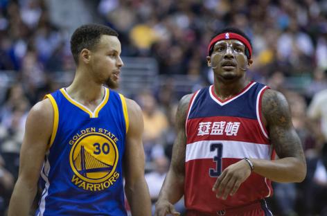 Wyniki NBA: Curry prowadzi Warriors, 9 punktów Gortata