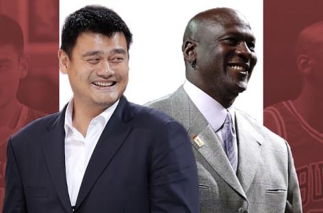 Dokument z Jordanem i Yao w Canal+