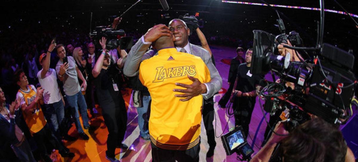 NBA: Kobe mógł wylądować w Detroit za inną gwiazdę!