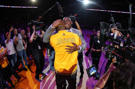 NBA: Jak Magic Johnson pomoże Lakers?