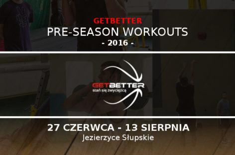 TBL: 27 czerwca rusza Getbetter Pre-Season Workouts
