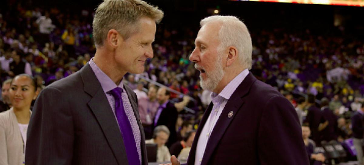 NBA: Kerr i Curry poparliby Popovicha