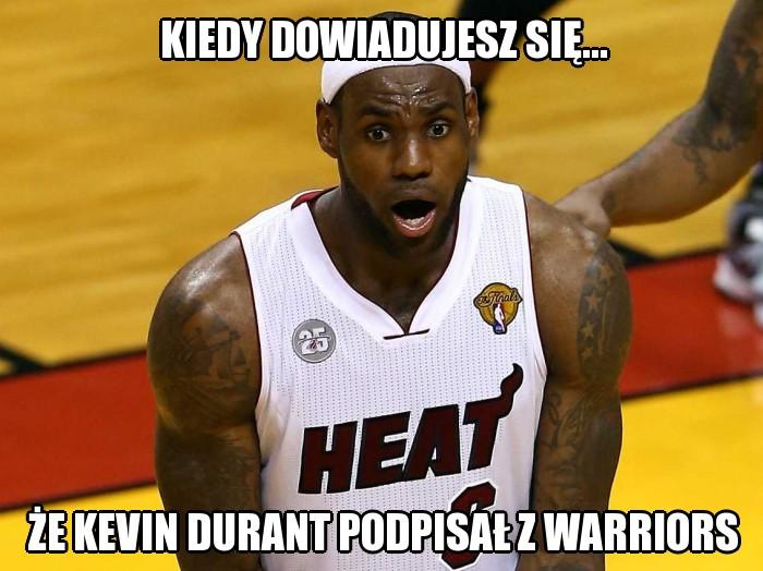 NBA: Były wielkie decyzje, są memy. Zobacz reakcje internautów