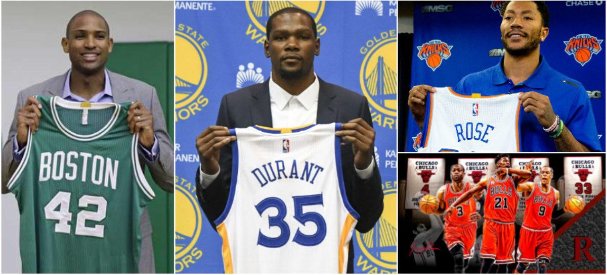 NBA: Aktualne składy drużyn NBA na sezon 2016/2017 – wszystkie transfery!