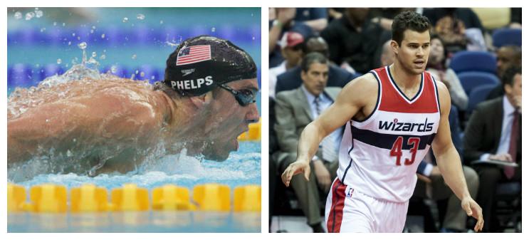 Pływał lepiej od Phelpsa. Dziś gra w NBA