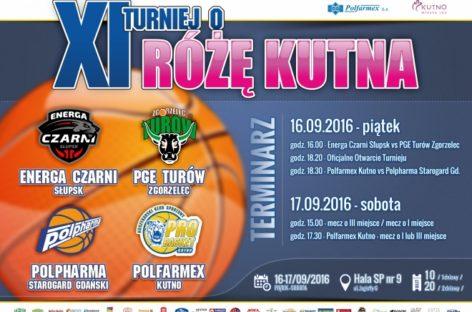 """TBL: XI Turniej o """"Różę Kutna"""" już w następny weekend."""