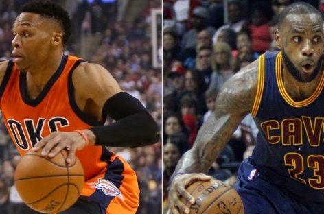 NBA: Westbrook i James najlepszymi graczami tygodnia