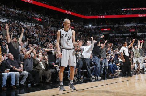 Wyniki NBA: Pacers kończą serię Cavs, wielki rzut Manu