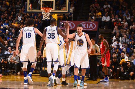 Wyniki NBA: Warriors podwyższają prowadzenie