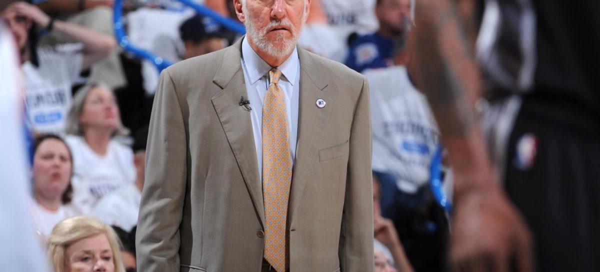 NBA: Wymowna wypowiedz Popovicha