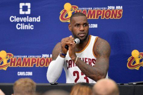 James: Rywalizacja z Warriors? Nie, to tylko kolejny mecz