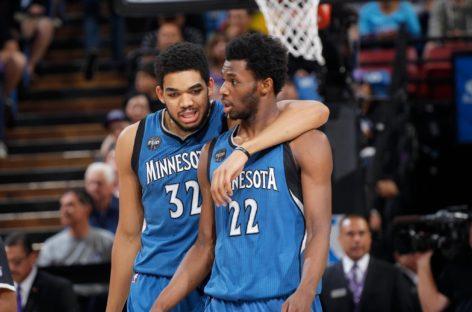 Wyniki NBA: 41 punktów Wigginsa, 40 oczek Cousinsa