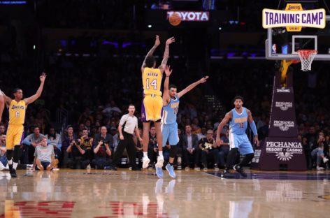 Wyniki NBA: Game-winner Ingrama, Nets wygrali w Meksyku