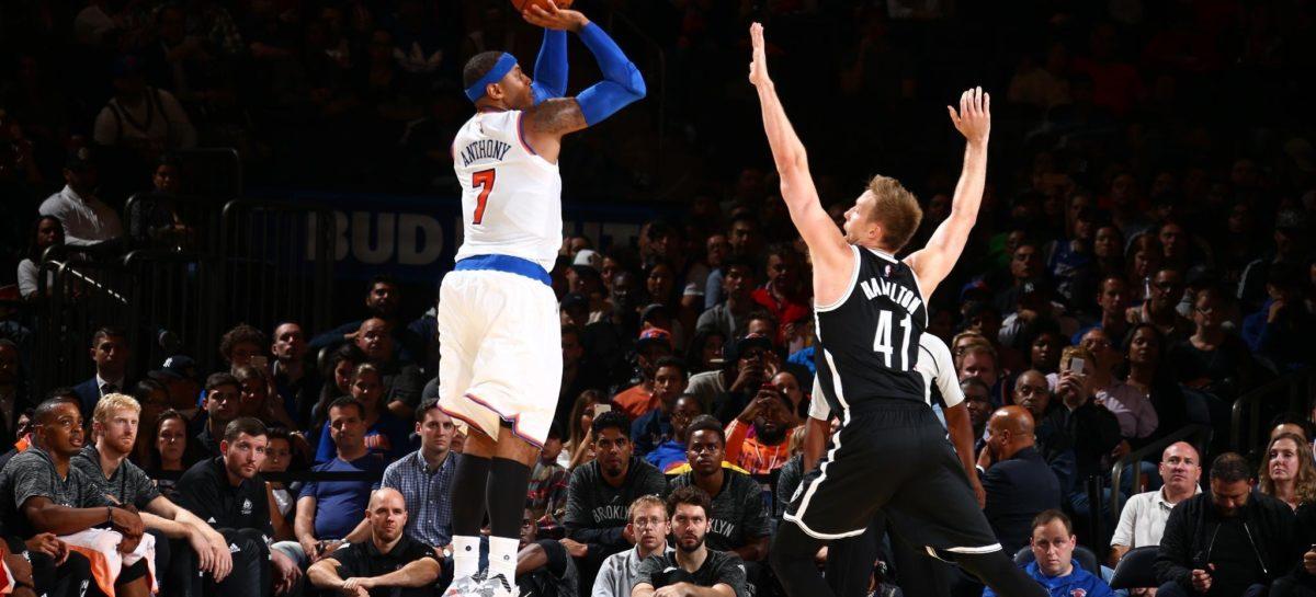 NBA: Knicks zmienią decyzję w sprawie Melo?