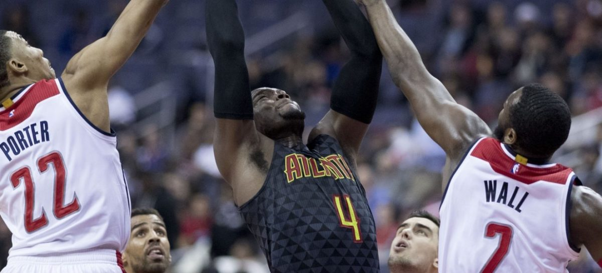 NBA: Millsap oskarża Wizards o fizyczność rodem z MMA