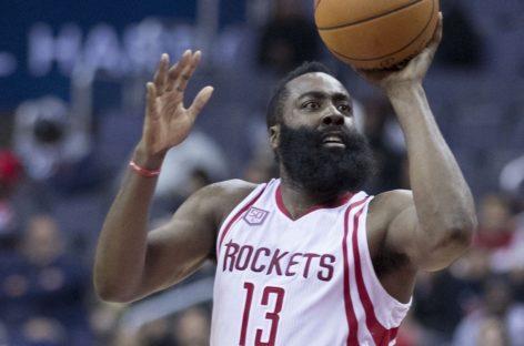 Wyniki NBA: Niespodzianka w Ohio, triple-double Hardena kończy serię Warriors po dogrywkach!
