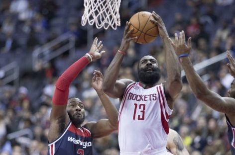 Wyniki NBA: rekord Houston Rockets, game-winner Hooda, blowout w Chicago