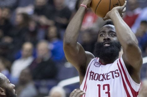 Wyniki NBA: Harden bliski triple-double