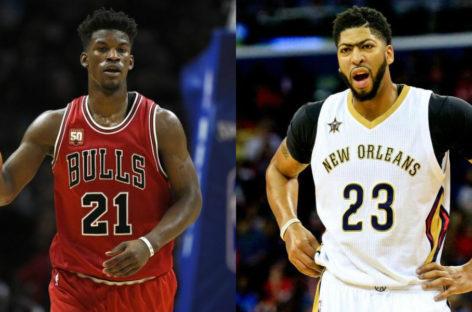 NBA: Jimmy Butler i Anthony Davis graczami tygodnia
