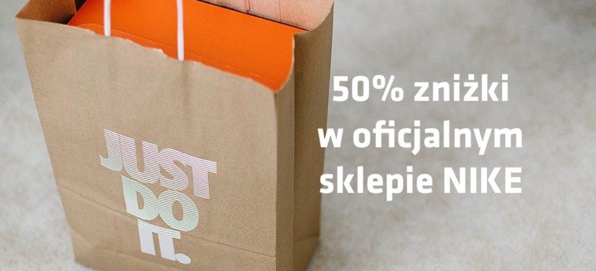Tylko przez 2 dni nawet 50% taniej! Promocja w oficjalnym sklepie Nike!