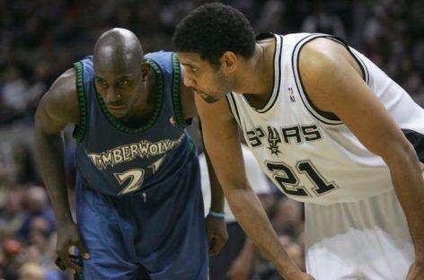NBA: Garnett i Duncan wrócili na sale treningowe