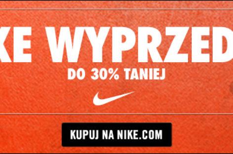 Ponad 1800 produktów w Nike ze zniżką nawet 30%!