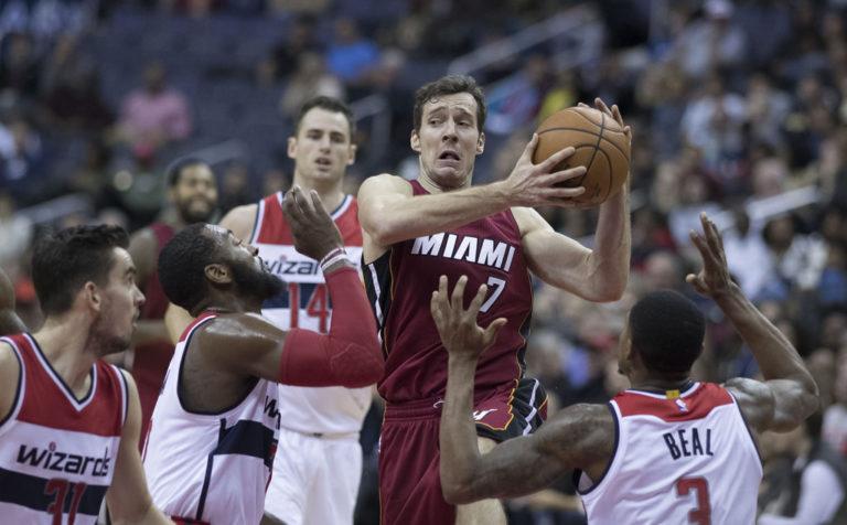 Wyniki NBA: Dragić pogrążył Wizards, 32 minuty Gortata