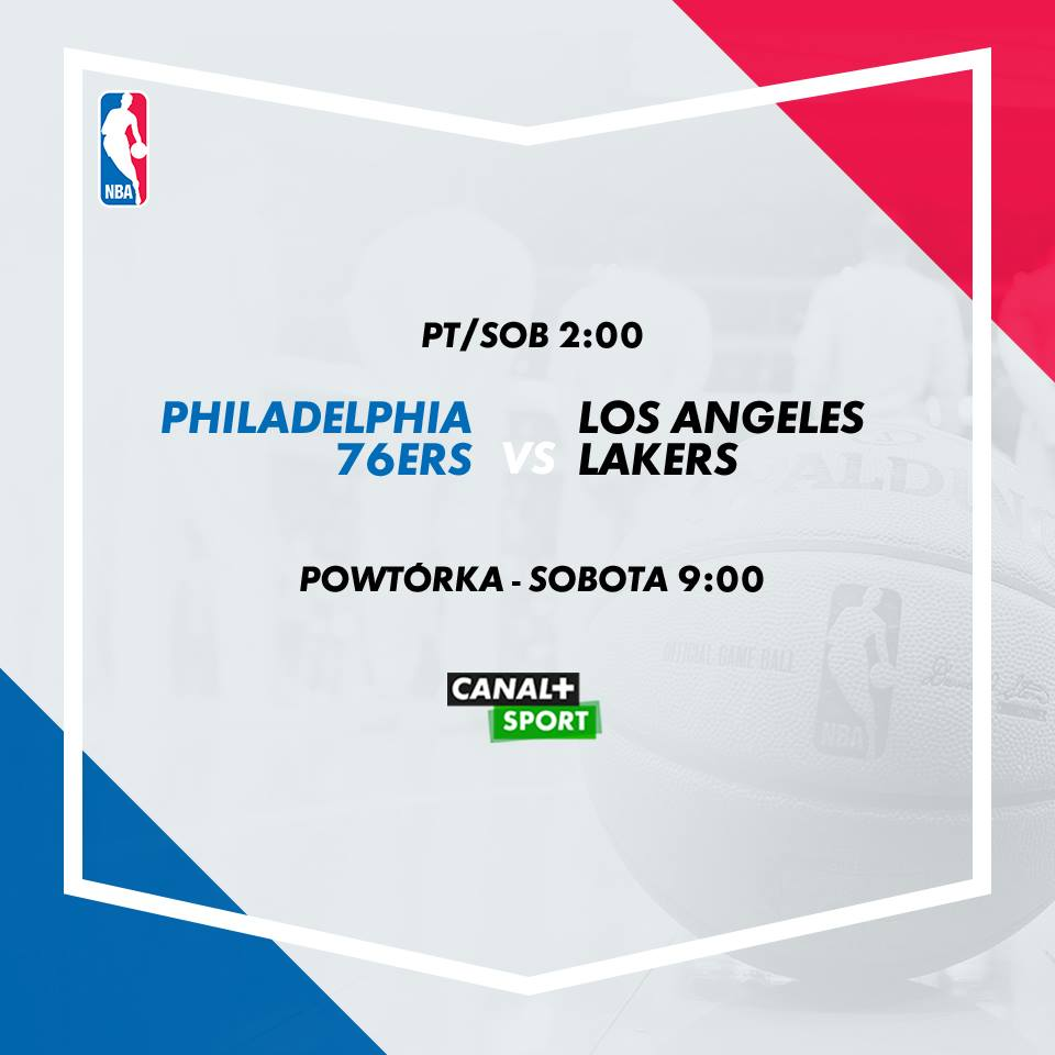 sixers lakers canal+