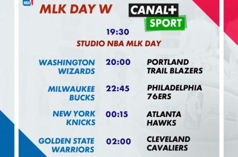 NBA: Dziś dzień Martina Luthera Kinga. Zaczynają grać już o 19:00!