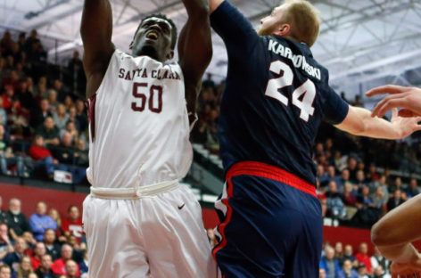 NCAA: Gonzaga wciąż na fali-19 punktów Karnowskiego.