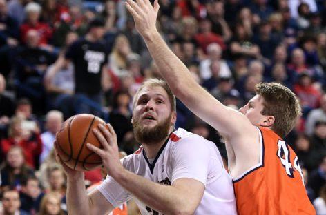 NCAA: Gonzaga wyrównuje rekord. Bardzo dobry występ Karnowskiego
