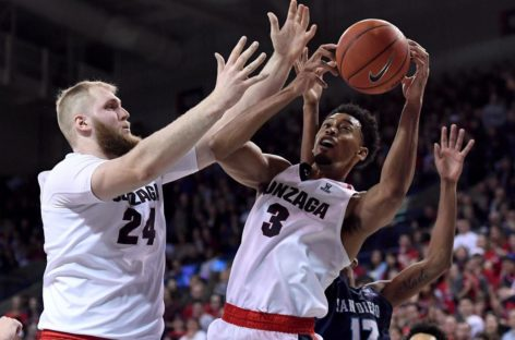 NCAA: 21. zwycięstwo w sezonie Gonzagi. Karnowski liderem.