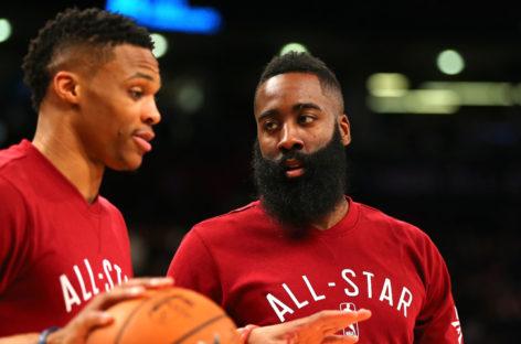 NBA: Westbrook odmówił, Harden i Paul zrobili show