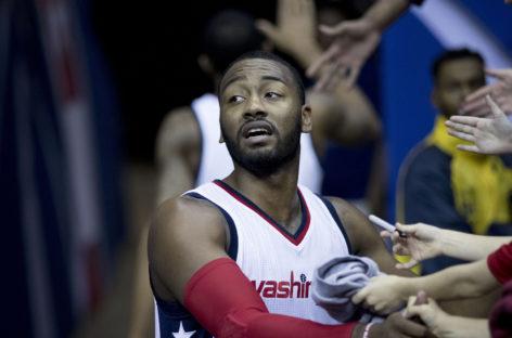 Wyniki NBA: Trudne chwile Gortata, Wizards bliżej półifnałów
