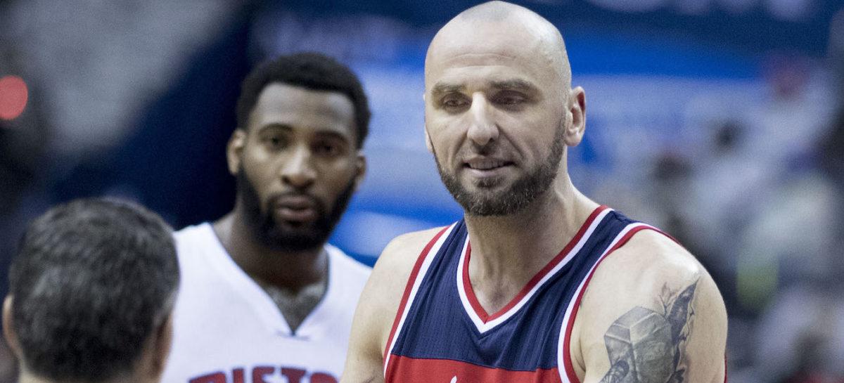 Wyniki NBA: Kolejna dogrywka Wizards, 14 oczek, 14 zbiórek Gortata